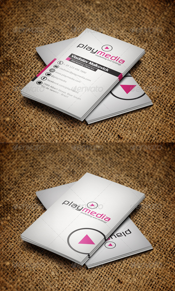 GraphicRiver Corporate Business Card 2 3156594