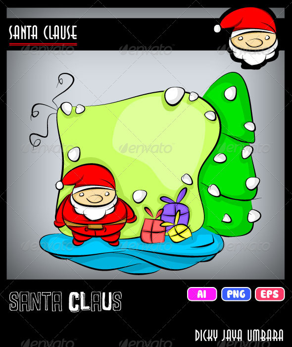 GraphicRiver Santa Claus 3156624