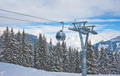 The gondola ski lift - PhotoDune Item for Sale
