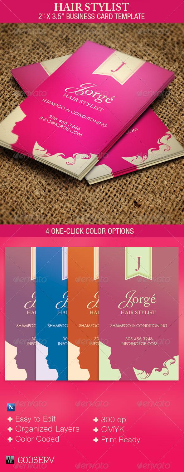 salon business cards templates free