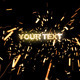 Text Sparks - VideoHive Item for Sale