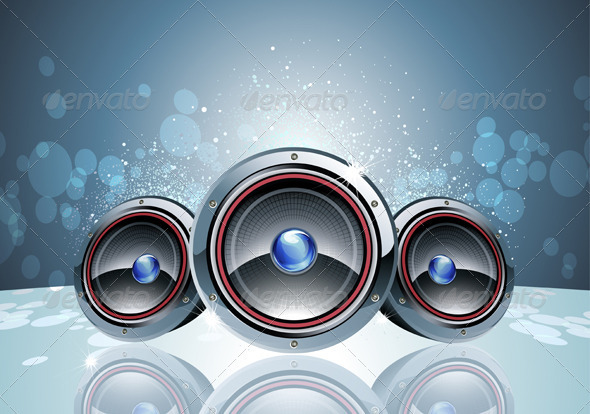 Disco party Background  - Backgrounds Decorative