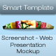 Screenshot - Web Presentation Mockup - GraphicRiver Item for Sale