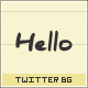 Paper Twitter Background - GraphicRiver Item for Sale