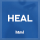 Heal - Responsive Medical and Health HTML Template - ThemeForest Item for Sale