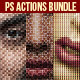 Creative Photoshop Actions Bundle - GraphicRiver Item for Sale