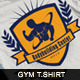 Bodybuilding Center Tshirt - GraphicRiver Item for Sale