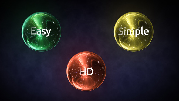 VideoHive Dynamic Spheres Logo 3166187