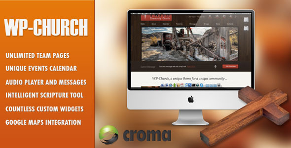 WP-Church - powerful theme for churches - Churches Nonprofit