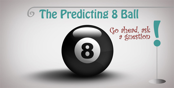 VideoHive The Predicting 8 Ball 3173320