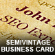 Original Semivintage Business Card - GraphicRiver Item for Sale