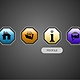 4 Icon Buttons with Tooltip - ActiveDen Item for Sale