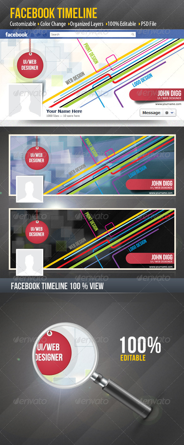 GraphicRiver FB Timeline 3157987