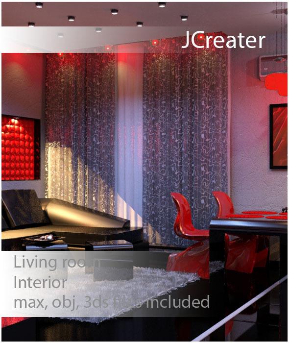3DOcean Living Room 3175083
