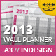 Year Wall Planner - GraphicRiver Item for Sale