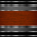 Abstract steel and wood business background - PhotoDune Item for Sale
