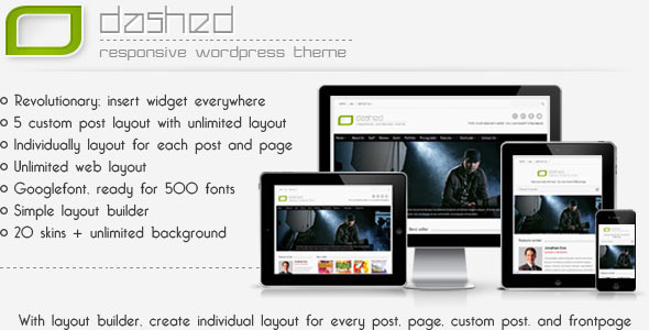 ThemeForest Odashed Multi Purpose Wordpress Theme 3078585