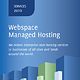 Half-Fold Hosting Brochure - GraphicRiver Item for Sale