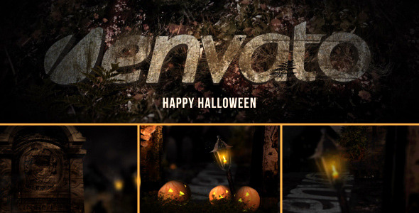 VideoHive Halloween Logo Reveal 3178867