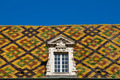 Colored roof in dijon city - France - PhotoDune Item for Sale