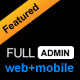 FULLADMIN - web + mobile admin template - ThemeForest Item for Sale