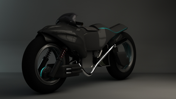 3DOcean Future Bike 3D Models -  Vehicles  Land  Motorcycles 112248