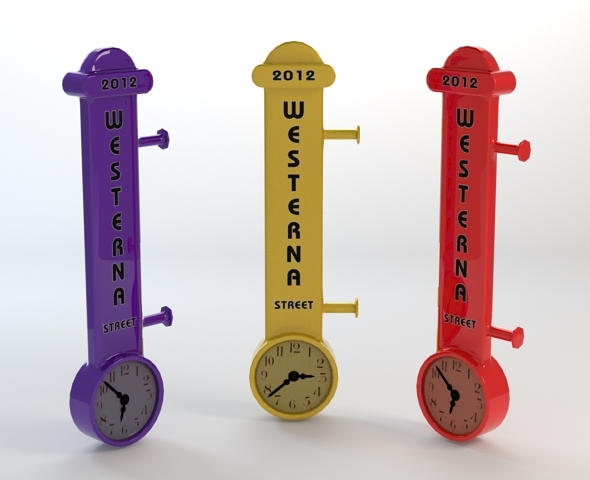 3DOcean Modern Wall Clock 3181448
