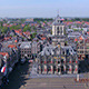 Aerial View of Delft City at Morning - VideoHive Item for Sale