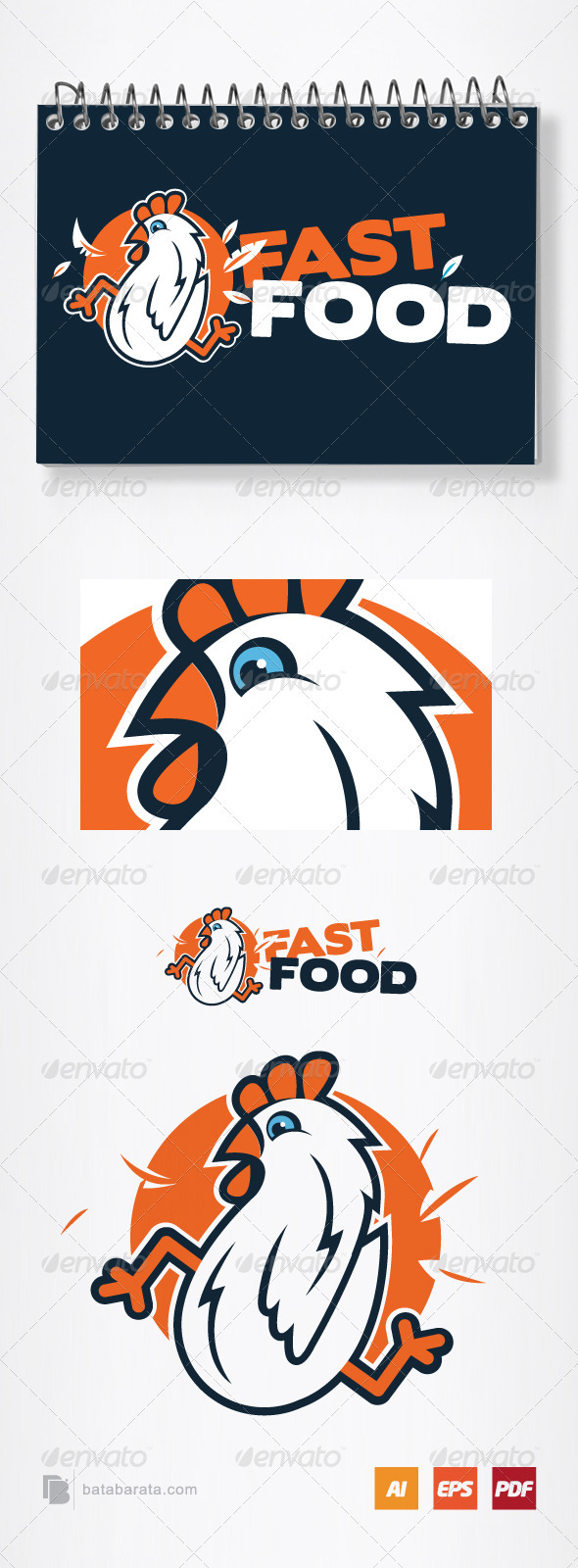 Fast Food Logo - Animals Logo Templates