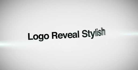 VideoHive Logo Reveal Stylish 3186112