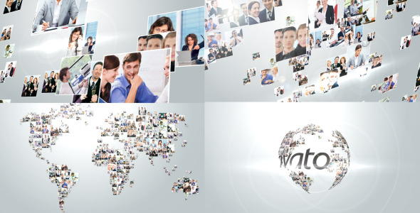 VideoHive Multi Video Corporate World Logo Revealer 3190911