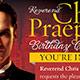 Pastor's Birthday Celebration Invitation Template - GraphicRiver Item for Sale