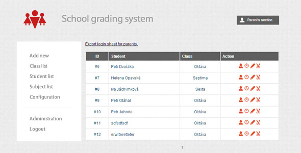 CodeCanyon School Grading System 1471428