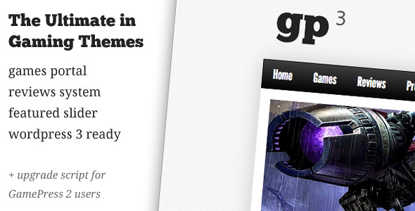 ThemeForest GamePress 3 Gaming News & Reviews 112537