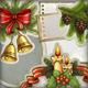 Vintage Christmas Decoration - GraphicRiver Item for Sale