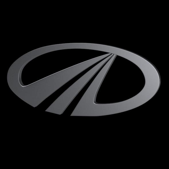3DOcean Mahindra Logo 3197518