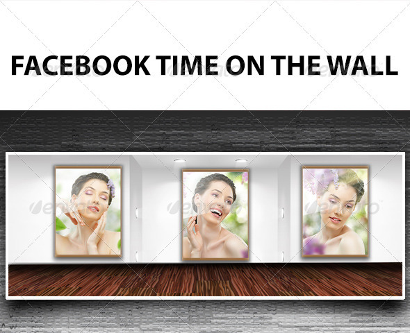 FB Timeline On The Wall - Facebook Timeline Covers Social Media