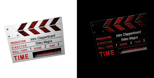 After Effects Project - VideoHive Intro Clappers 2 in 1 CS3 Full HD 112761
