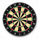 Professional Dartboard for Steel Tip Darts - GraphicRiver Item for Sale