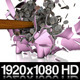 Hammer Shattering A Full Piggy Bank In Slow Motion - VideoHive Item for Sale