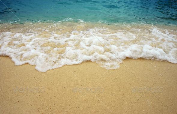 Beach Wave Sea Sand Sun Stock Photo By Thaiview PhotoDune