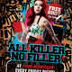 All Killer No Filler Punk Rock Flyer / Poster - GraphicRiver Item for Sale
