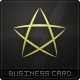 Star Business Card - GraphicRiver Item for Sale