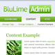 BluLime Admin - ThemeForest Item for Sale