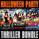 Thriller Halloween Party Flyer Bundle - GraphicRiver Item for Sale