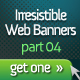 Irresistible Web Banner Templates 04 - GraphicRiver Item for Sale