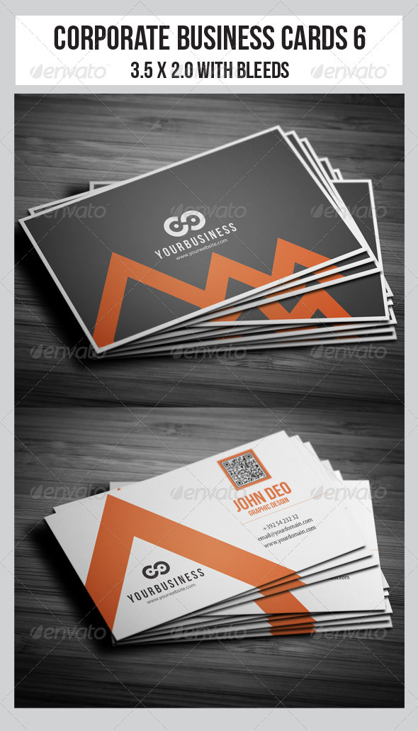 Corporate Business Cards 6 - Corporate Business Cards