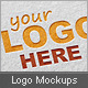 Realistic Logo Mockups Vol.1 - GraphicRiver Item for Sale