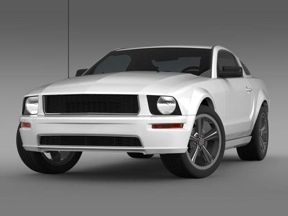 3DOcean Ford Mustang Bullit 2008 3186333