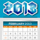NeoMan_2013 Official Calendar Templates - GraphicRiver Item for Sale